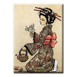 Картина на холсте (50х35 см) Japan