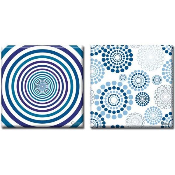 Модульная Картина на холсте (50х100 см) Hypnosis [2 модуля]