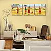 Модульная Картина на холсте (50х150 см) Oasis [3 модуля], фото 2