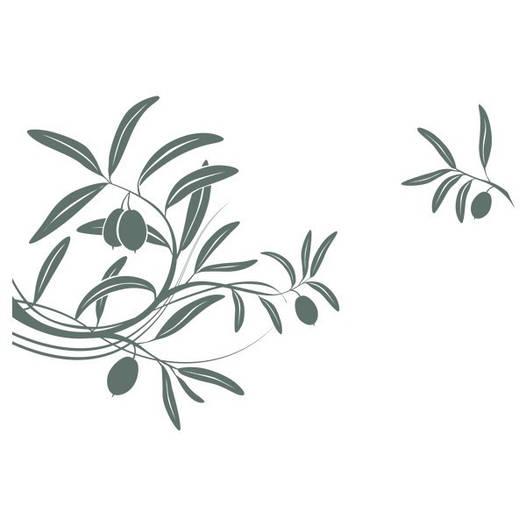 Наклейка интерьерная виниловая (70х50 см, варианты цветов) Olive