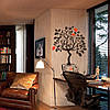 Наклейка интерьерная виниловая (50х70 см, варианты цветов) Coffee Tree, фото 2