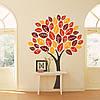 Наклейка интерьерная виниловая (150х200 см, варианты цветов) Autumn Tree, фото 2