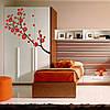 Наклейка интерьерная виниловая (140х60 см, варианты цветов) Sakura, фото 2