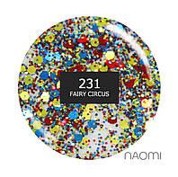 Гель-лак Naomi 6 мл. Brilliant FAIRY CIRCUS 231