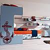 Наклейка интерьерная виниловая (40х70 см, варианты цветов) Anchor, фото 2