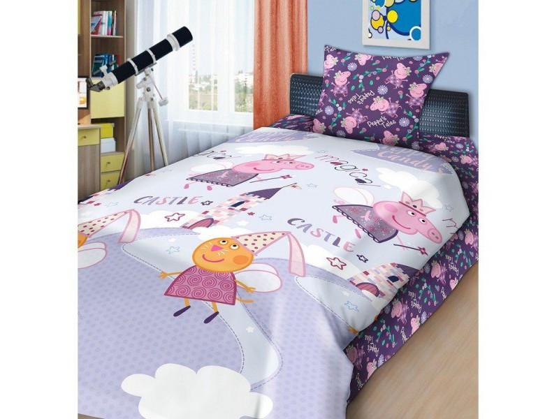 Детский постельный комплект «Пеппа-фея», Свинка Пеппа