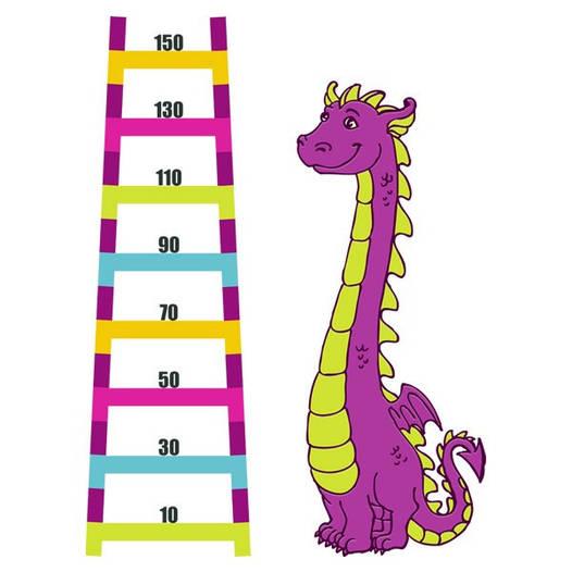 Наклейка интерьерная виниловая (160х120 см) Dinosaur
