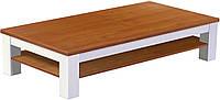 Журнальный стол из массива дерева 038