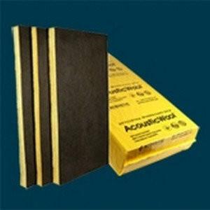 Акустическая базальтовая вата AcousticWool Sonet P, 100мм. 80кг/куб.м., фото 2