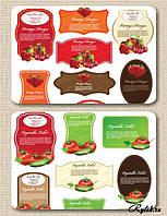Самоклеющаяся этикетка для овощей,фруктов, фото 1