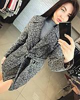 Пальто женское , Кашемир - букле, подкладка, Длина изделия 90см цвет только такой ля№ баунти