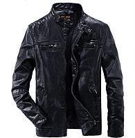 Мужская кожаная куртка. Модель 2020