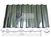 Профнастил С-20  0,55мм  оцинкованный, фото 1