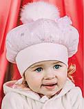Набор шапка и шарфик для девочки арт. Бланка, фото 2
