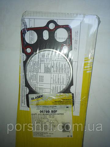 Прокладка  головки  Scorpio 2.5 TD двигатель  VM. ALFA 4 шт. GLASSER 06780