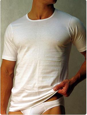 Мужская футболка Doreanse Cotton 2510 белый