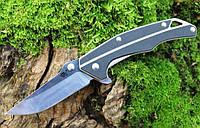 Нож Sanrenmu 7076LUX-GHV марка стали Sandvik 12C27. Компактный складной нож.