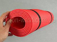 Коврик для йоги и гимнастики - Relax 3005 красный, размер  60 x 180 см., толщина 5мм, фото 1