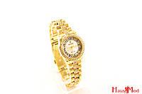 Женские часы Rolex в  золоте (копия)