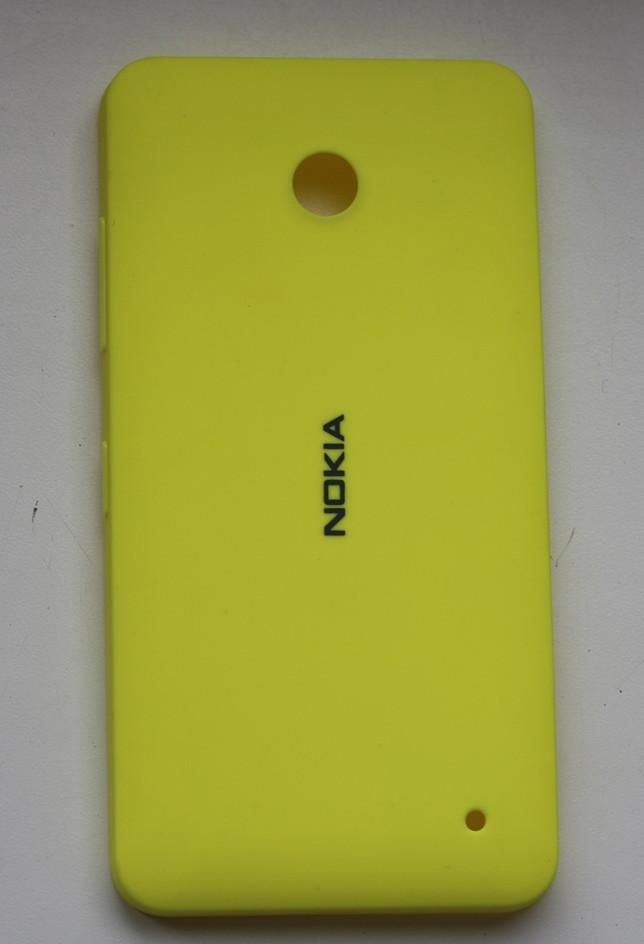 Задняя крышка для Nokia lumia 630, 635 желтая панель