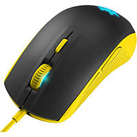 Мышка STEELSERIES Rival 100, proton yellow (62340)