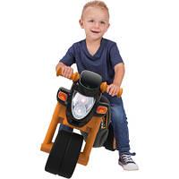 Мотоцикл Каталка, толокар для катания малыша Спортивный стиль со звуковыми эффектами BIG 56361