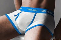 Мужские трусы боксеры Calvin Klein 365, белые