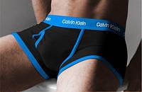 Мужские трусы боксеры Calvin Klein 365, черные
