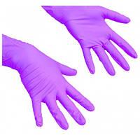 Перчатки нитриловые Mercator Medical 200 шт. фиолетовые, фото 1