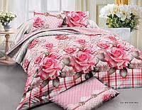 Двуспальный набор постельного белья Ранфорс №227