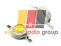 Светодиод SMD мощный  1W белый теплый  80-90Lm 1WSA30