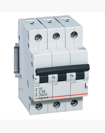 Автоматический выключатель Legrand RX3 3P 20A