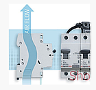 Автоматический выключатель Legrand RX3 3P 25A , фото 3
