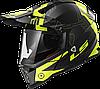 Мотошлем LS2 MX436 PIONEER TRIGGER черный/желтый