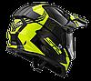 Мотошлем LS2 MX436 PIONEER TRIGGER черный/желтый, фото 2