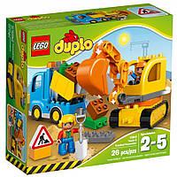 Конструктор LEGO Duplo Грузовик и гусеничный экскаватор (10812)