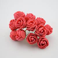 Цветы для волос для причесок 2 см диаметр