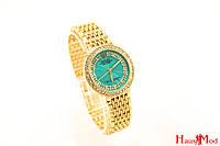 Женские часы Rolex в золоте с березовым цифербладом  (копия)