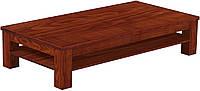 Журнальный стол из массива дерева 039