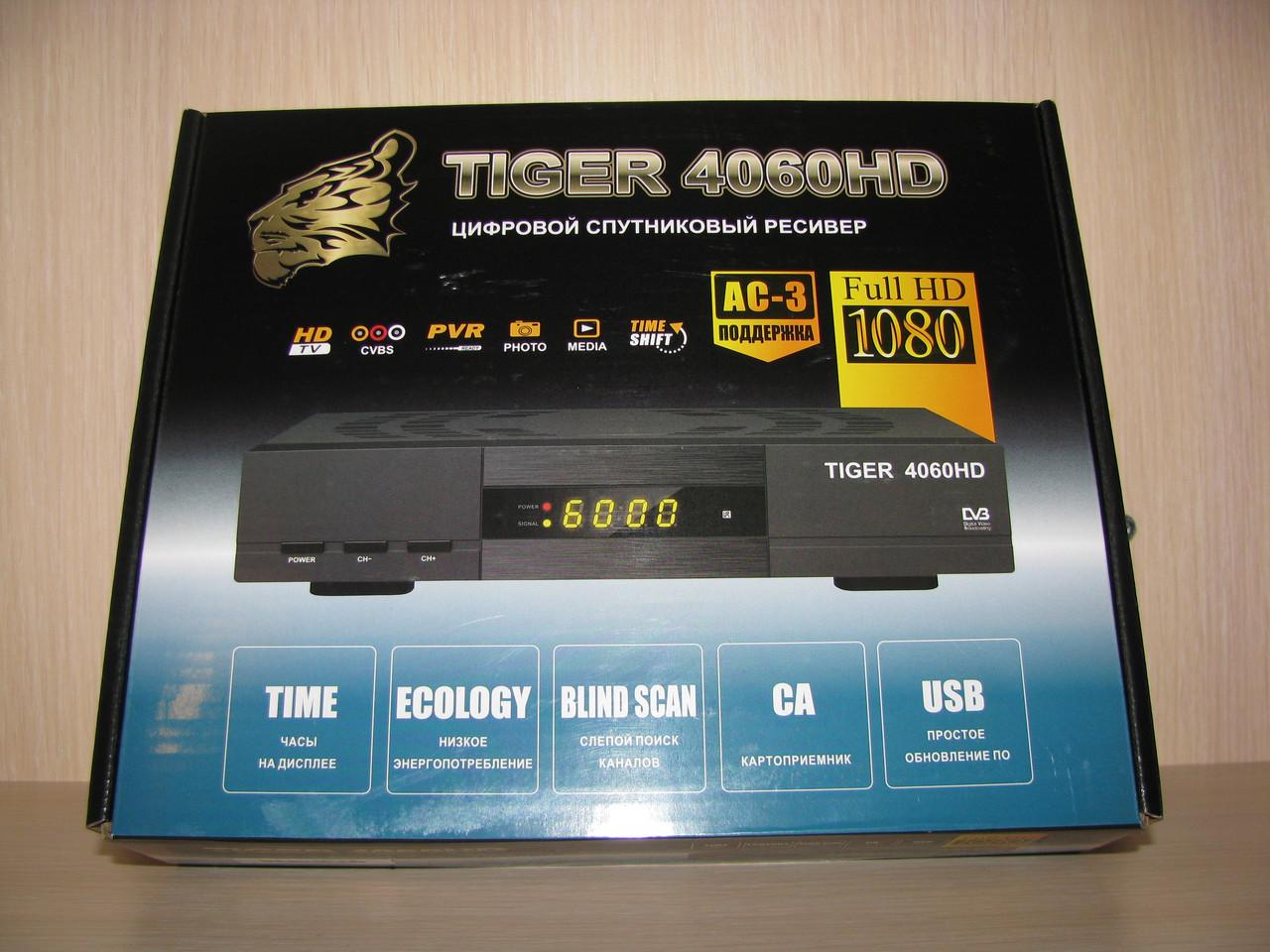 Tiger 4060 HD (супутниковий ресівер HD)