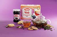 Ягодно-травяной чай с черникой