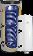 """Напольный водонагреватель комбинированный с двумя теплообменниками 119м2 """"Green Line """" 150(2) и тэном 3.0 kW"""