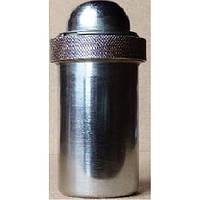 КМ – 2 металлический Футляр для шприцов типа «Рекорд», круглый