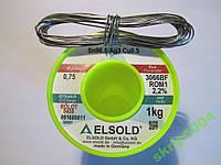 Припой с серебром ELSOLD Sn96,5  Ag3  Cu0,5