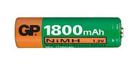 Аккумулятор АA GP 180АAHC-2UE2, 1800mAh, 2шт в блистере