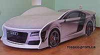 Кровать машина AUDI White