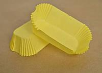 Формочки для маффинов и кексов 200шт Желтые