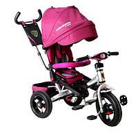 Детский трехколесный велосипед-коляска Crosser T 400 надувные колеса