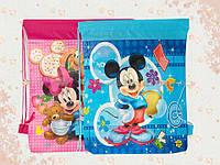 Рюкзак - сумка для сменной обуви Микки Маус