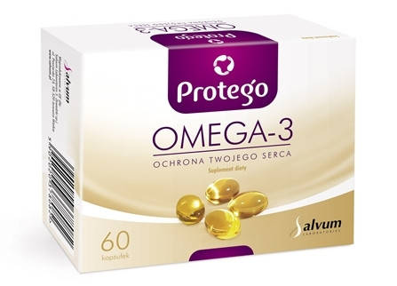 Omega-3 Protego (Salvum) 60 caps , фото 2